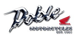 Doble Honda motorcycle dealer logo