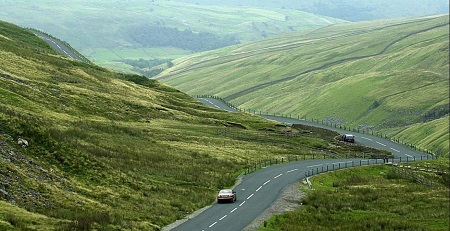 The Snake Pass, South Yorkshire