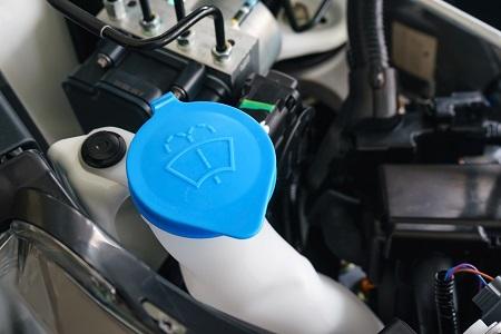 windscreen washer fluid tap
