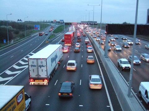 Rush-hour traffic increases fuel consumption